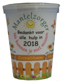Flowercup met tekst  25 stuks +gratis verzending_7