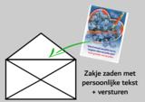 Verzending zakje met tekst/logo  _15