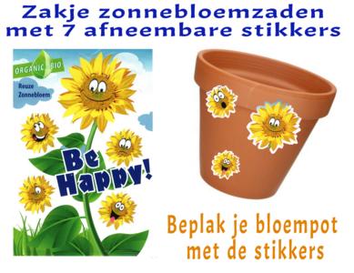 Zonnebloem Bee Happy