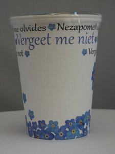 Flowercup type Vergeet me Niet